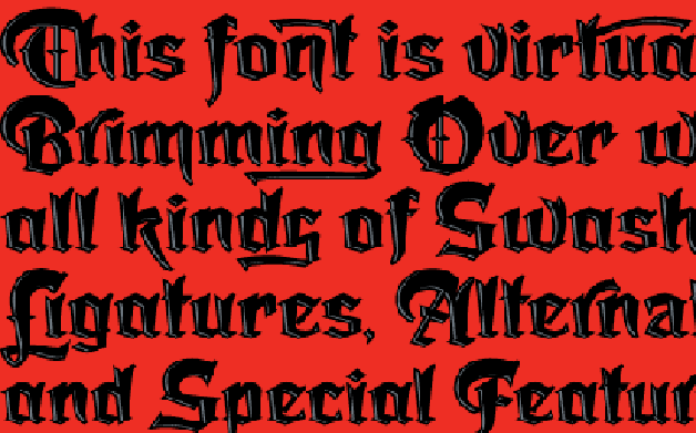 Thumbnail for New Gothic Typeface Be Damned