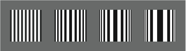 striped cylinders