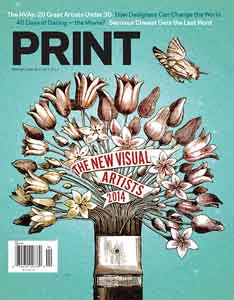 Thumbnail for Print's April 2014 Issue