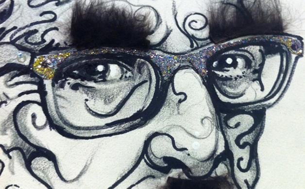 "Thumbnail for Roasting Robbie Conal: Eerie, Irascible Poster ""Poseur"""