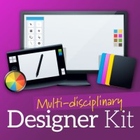 Are you looking to immerse yourself in the field of graphic design? Get started with this kit that covers branding, typography and web design.