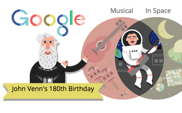 Thumbnail for 08/04/2014: Venn Diagram Google Doodle
