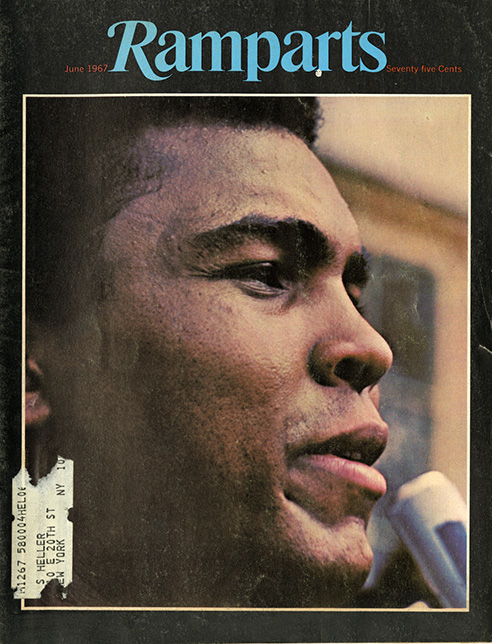 Which hero could be more heroic than Mohammed Ali. Despite the propaganda designed to scare white people into thinking he was yet another uppity one, his courage was also well documented and Rampart was there to provide an alternative to the mainstream stereotypes.