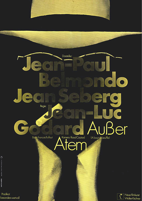 Godard movie posters: Regular Print contributor Rick Poynor highlighted an exhibit at London's Kemistry Gallery of Hans Hillmann's movie posters.