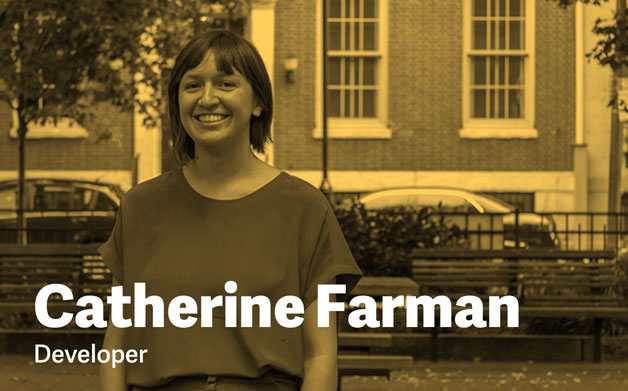 Thumbnail for Catherine Farman of Happy Cog Talks Women in Tech
