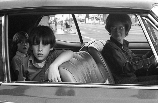 """Mike Mandel: from """"People in Cars, North Hollywood"""" series, 1970"""