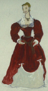 Costume design by Welles