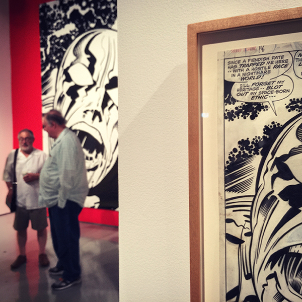 """""""A hostile race in a nightmare world"""" or gallery-goers in a Northridge University: you be the judge."""