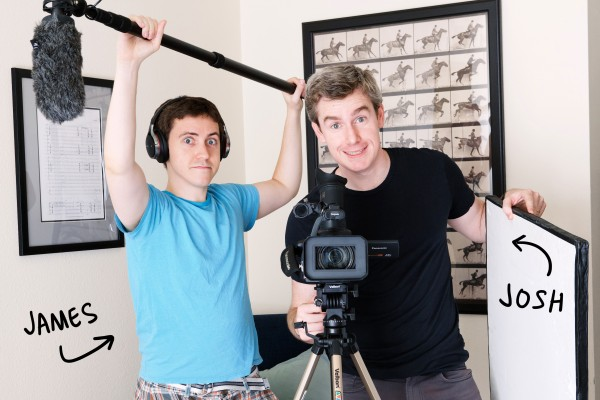Co-creators of HOME/OFFICE James Darling and Josh Shayne.