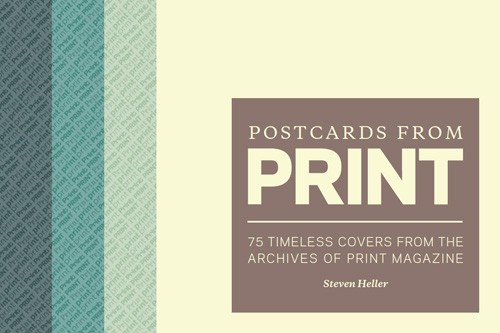 Postcards from print