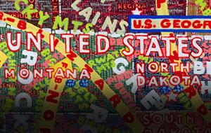 Thumbnail for Weekend Heller: Paula Scher Navigates The U.S.A.