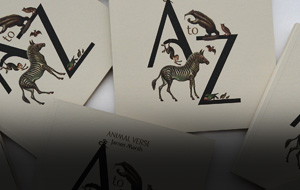 Thumbnail for A is for Animal: Showcasing a Typeface in an Illustrated Alphabet Book