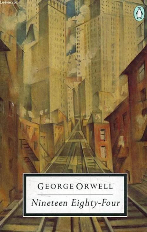"""1988 Penguin edition, featuring """"The Soul of the Soulless City"""" by etcher and lithographer Christopher R. W. Nevinson."""