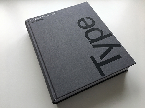 The Visual History of Type book