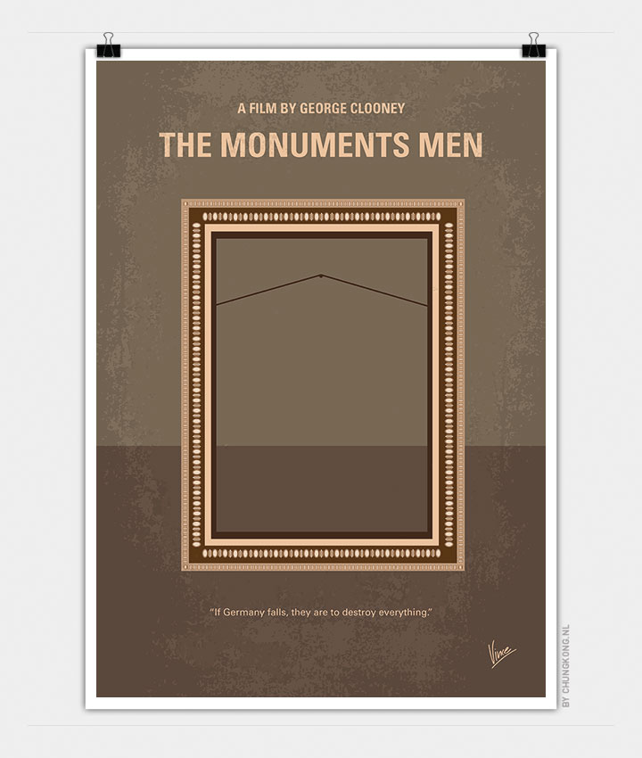 minimalist poster design by Chungkong