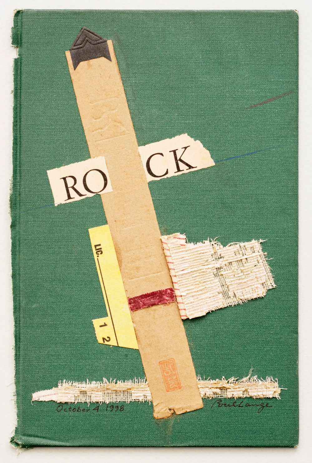 Constructing Art From Books