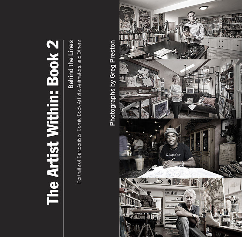 Eisner Awards- he Artist Within, Photographic Portraits Of Artists: Book 2