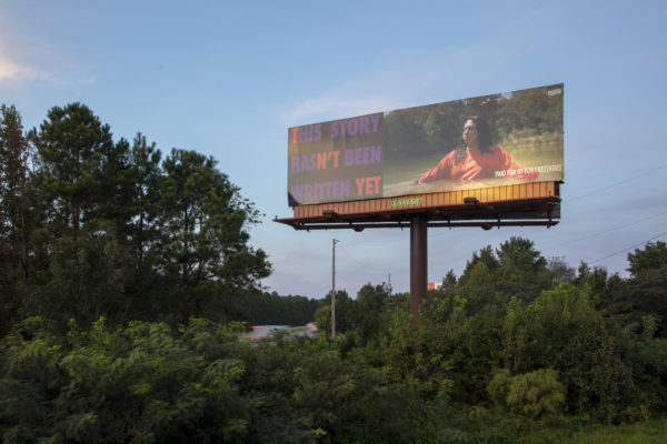 Artist Jeffrey Gibson's work in Raleigh, North Carolina. Courtesy Cultural Counsel