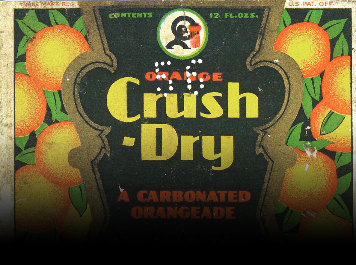Thumbnail for Vintage Orange Crush Soda Bottles Take a Ribbing