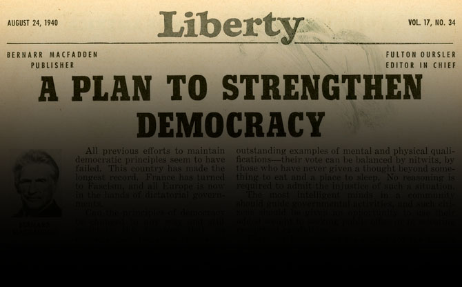 Thumbnail for The Trouble With Democracy?