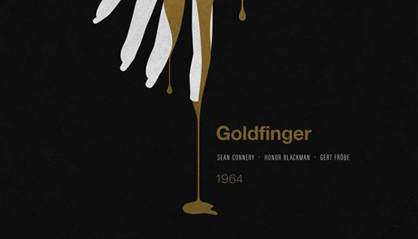 Thumbnail for Branding Bond: 24 Minimalist James Bond Posters