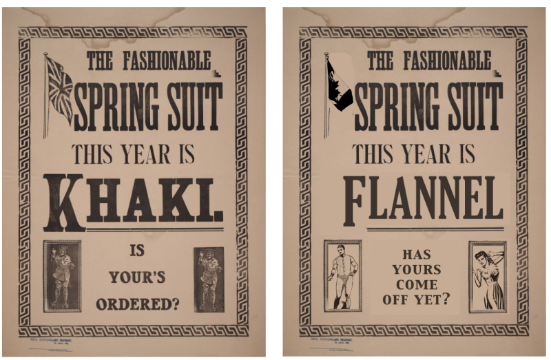 Spring suit this year is Khakl