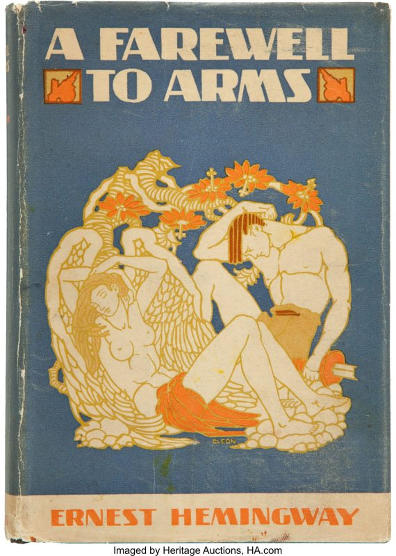 Thumbnail for Ernest Hemingway's First Edition Book Covers