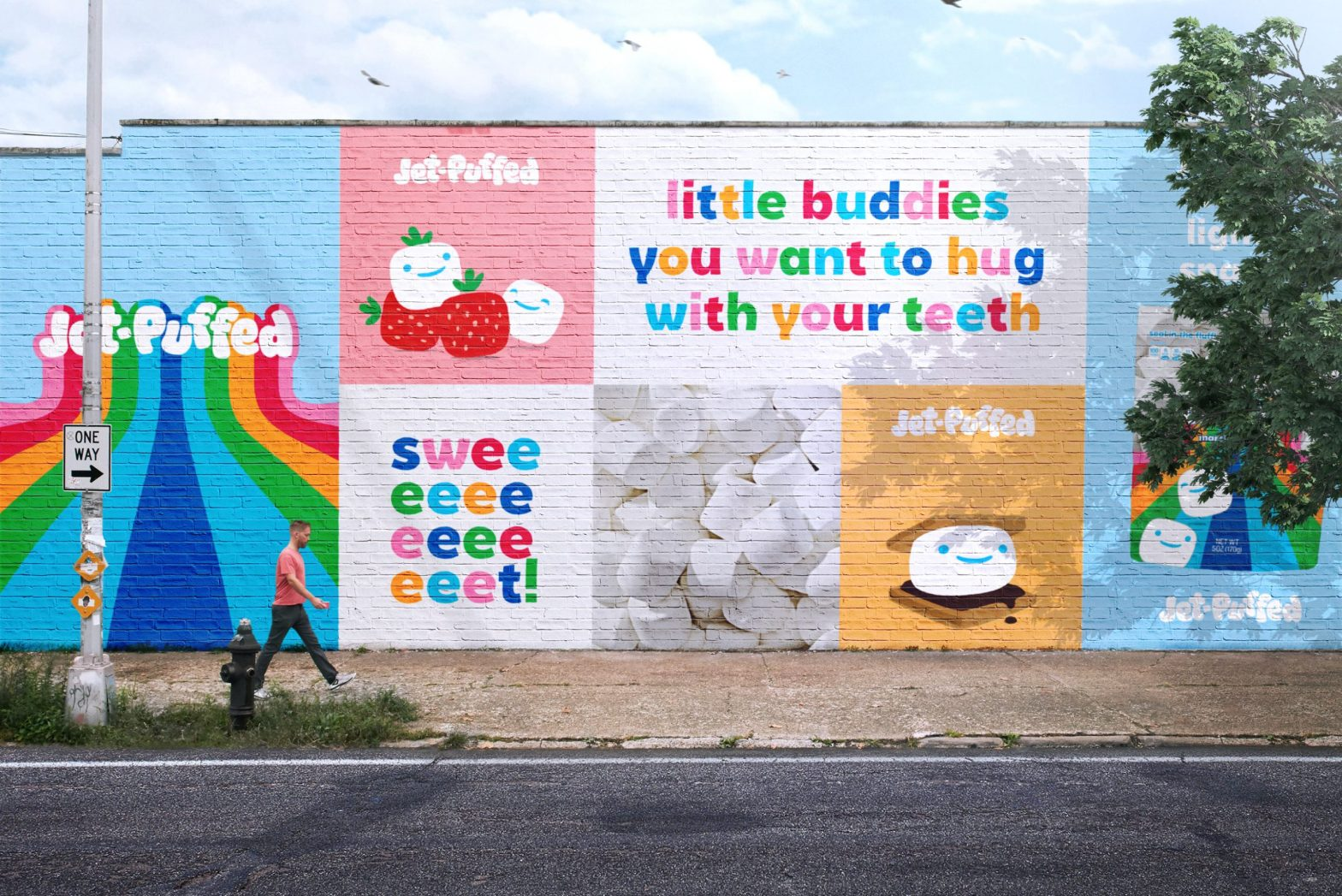 Thumbnail for Brand of the Day: Jones Knowles Ritchie's Playful Jet-Puffed Rebrand