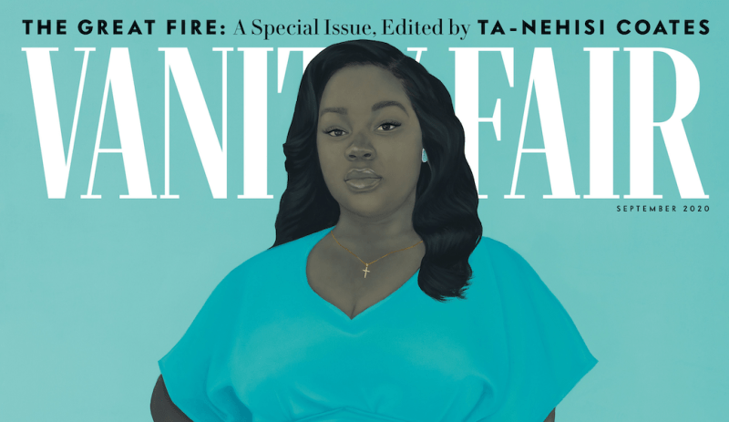 Thumbnail for Amy Sherald Paints Breonna Taylor for a Powerful Vanity Fair Cover