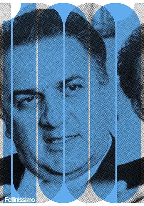Thumbnail for The Daily Heller: Federico Fellini's Centenary Celebration