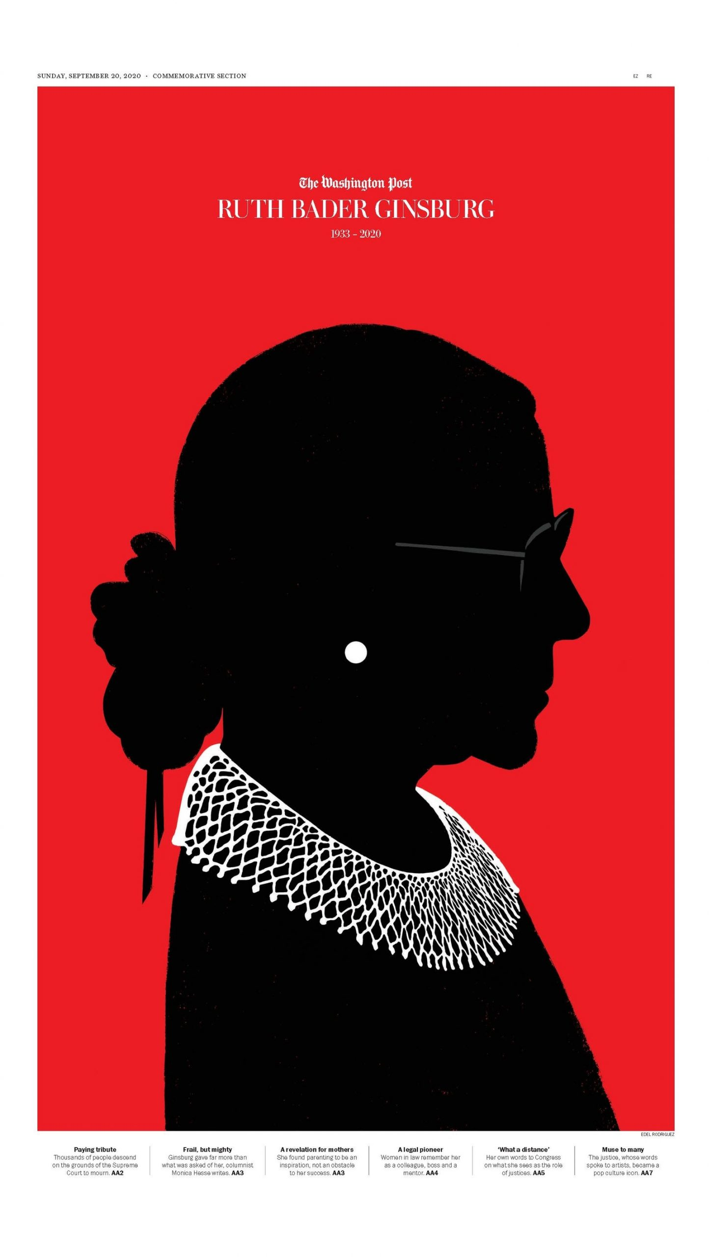 Thumbnail for Designers and Illustrators Pay Tribute to RBG