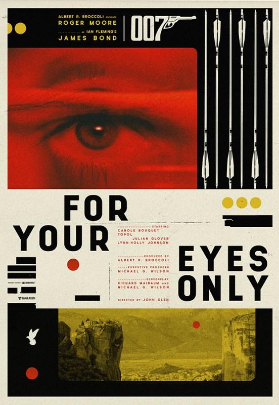 Thumbnail for Matt Needle: 25 Posters for 25 James Bond Films