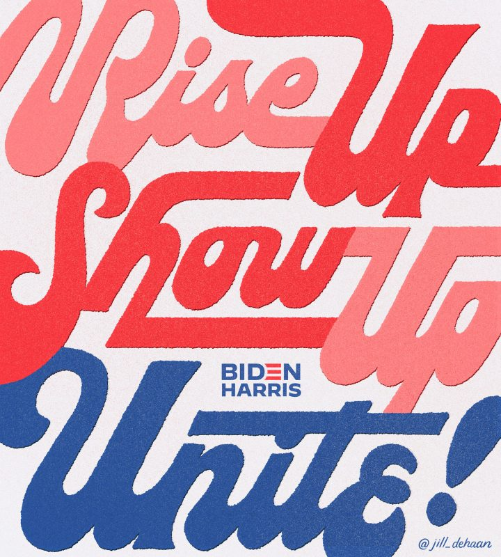 Thumbnail for Jessica Hische and Adé Hogue Rally the Creative Community Behind Biden and Harris