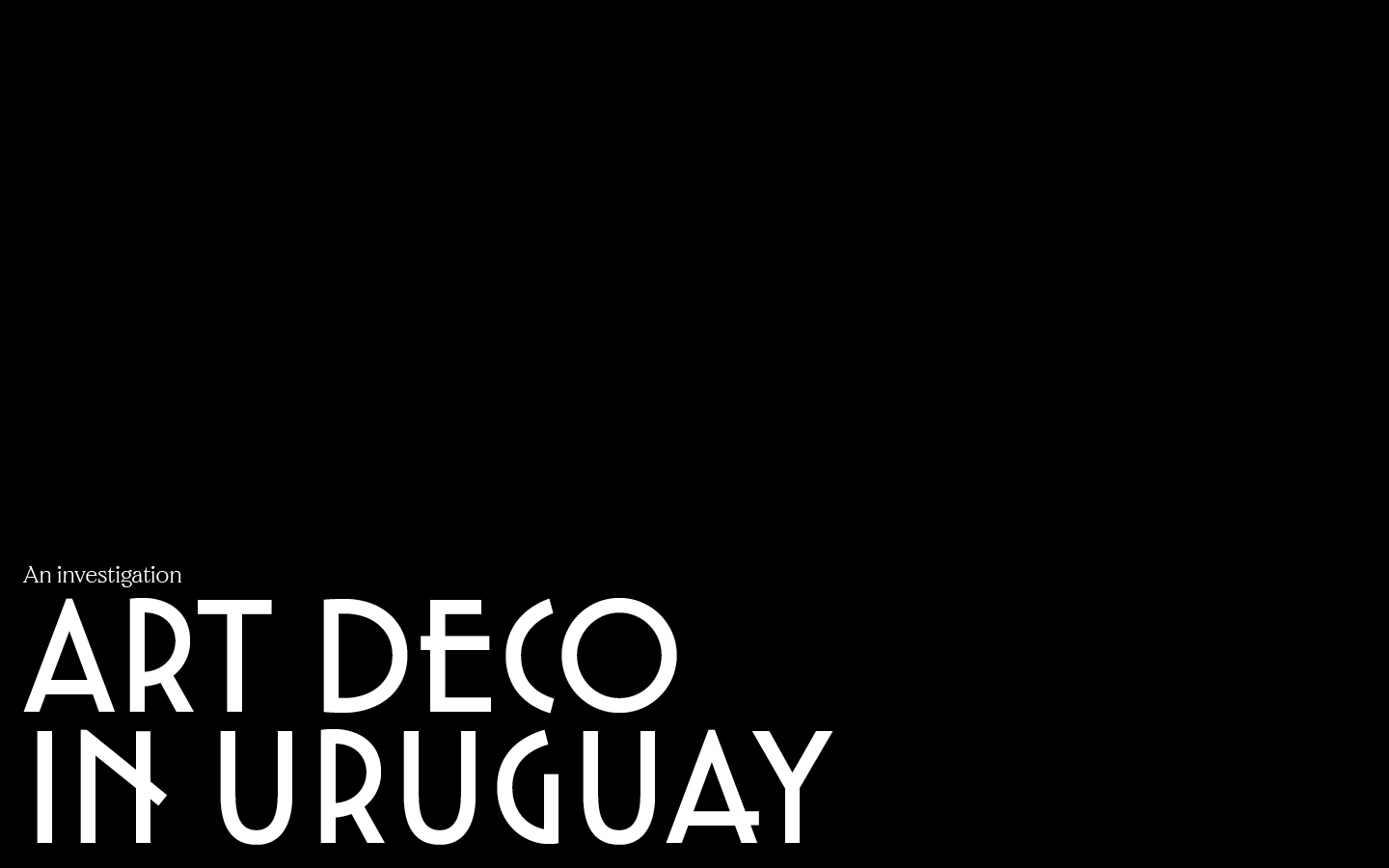 Thumbnail for The Daily Heller: Uruguay, Deco Style