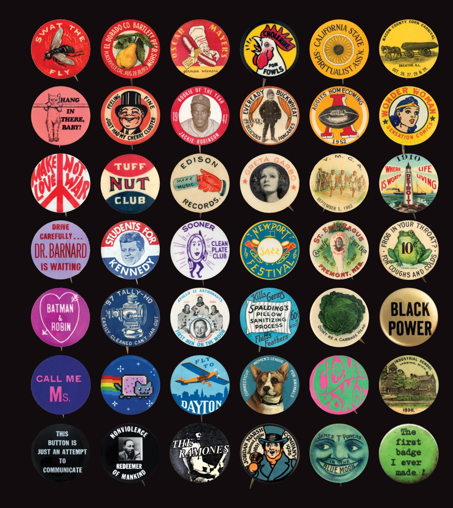 Thumbnail for The Daily Heller: Buttonmania!