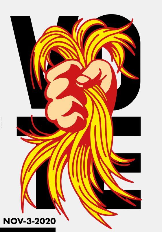 Thumbnail for The Daily Heller: A Hair-Raising Poster Race
