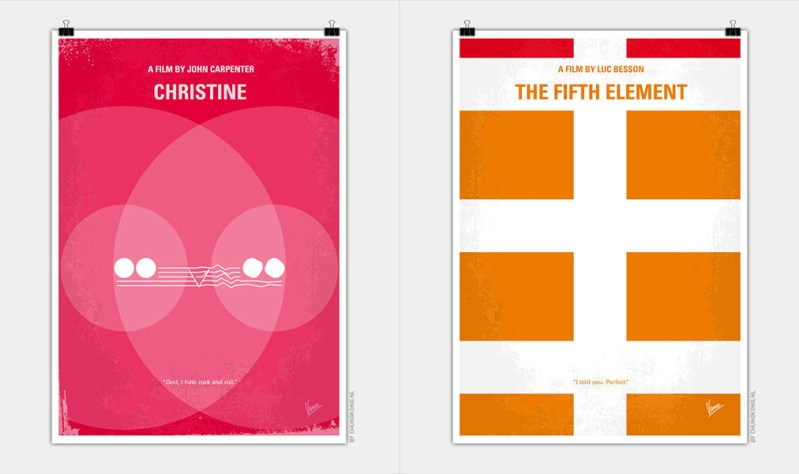 Thumbnail for Chungkong, Master of the Minimalist Movie Poster