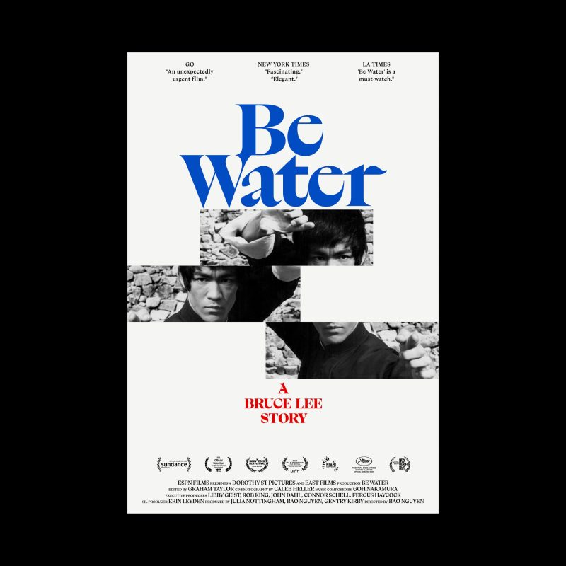 """Thumbnail for Celebrating Bruce Lee and """"Be Water"""" in 10 Posters"""