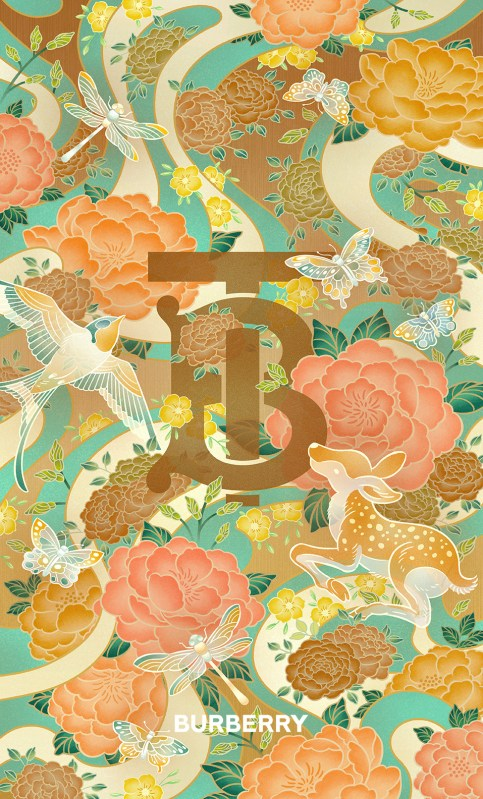 Thumbnail for Burberry Red-Envelope Design: Spring in your heart