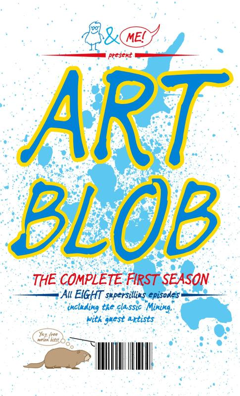 Thumbnail for The Daily Heller: Beware of The Blob ... The Art Blob