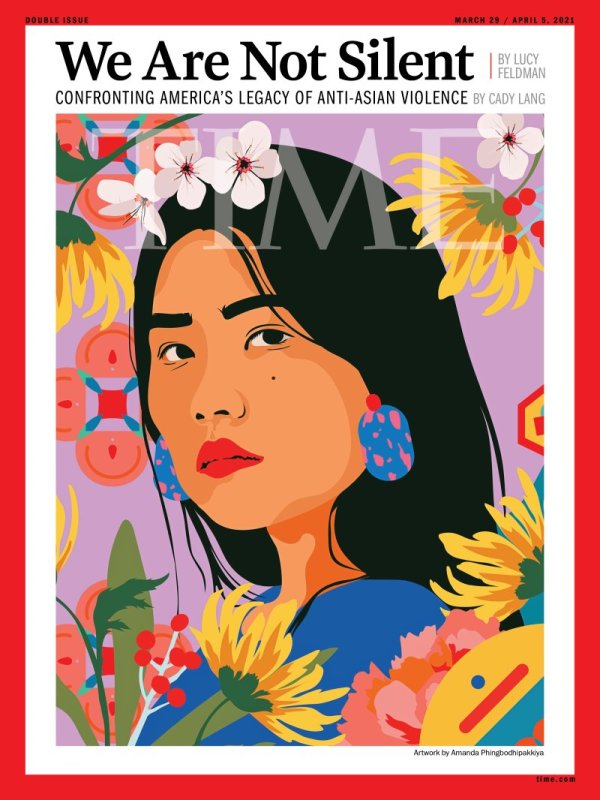 Thumbnail for Latest Time Magazine Gets a Powerful Cover That Tackles Anti-Asian Violence
