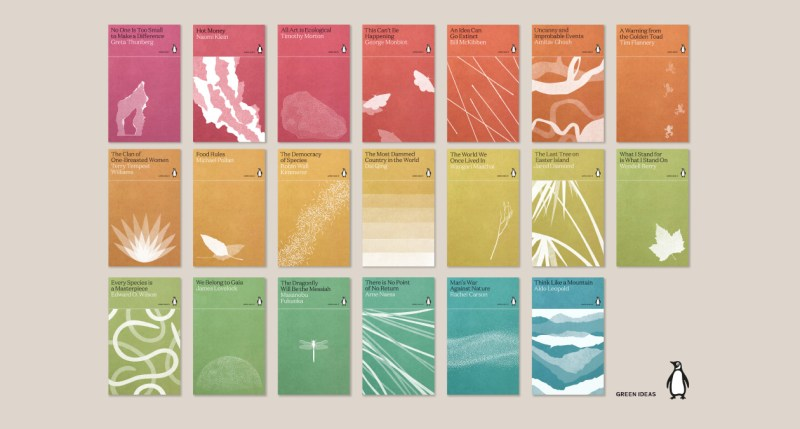 Thumbnail for Penguin Classics Unveils 'Green Ideas' Series With Gorgeous Design From Tom Etherington