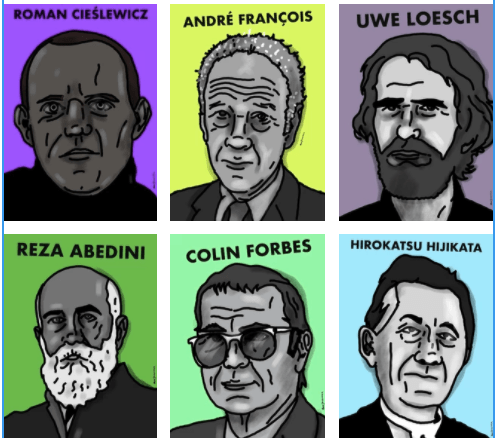 Thumbnail for The Daily Heller: Facing the Faces of Poster Masters