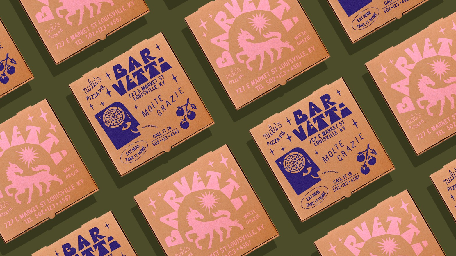Thumbnail for Zimmer Design's Branding For Bar Vetti Will Fill You Up With Whimsy (and Bucatini)