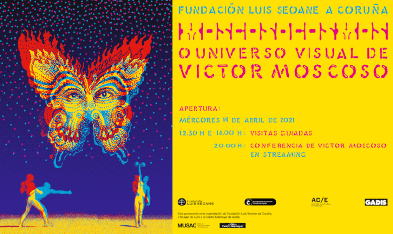 Thumbnail for The Daily Heller: Victor Moscoso's Psychedelic Big Bang in A Coruña