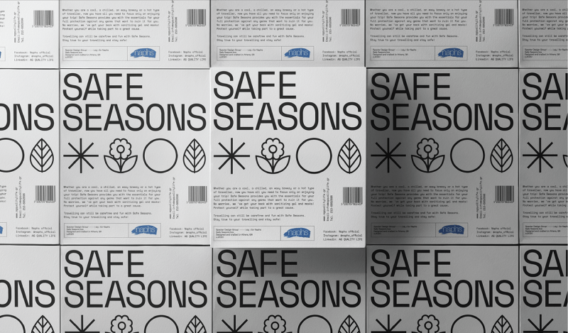 Thumbnail for Safe Seasons is a Beautifully Designed Year-Round COVID Kit