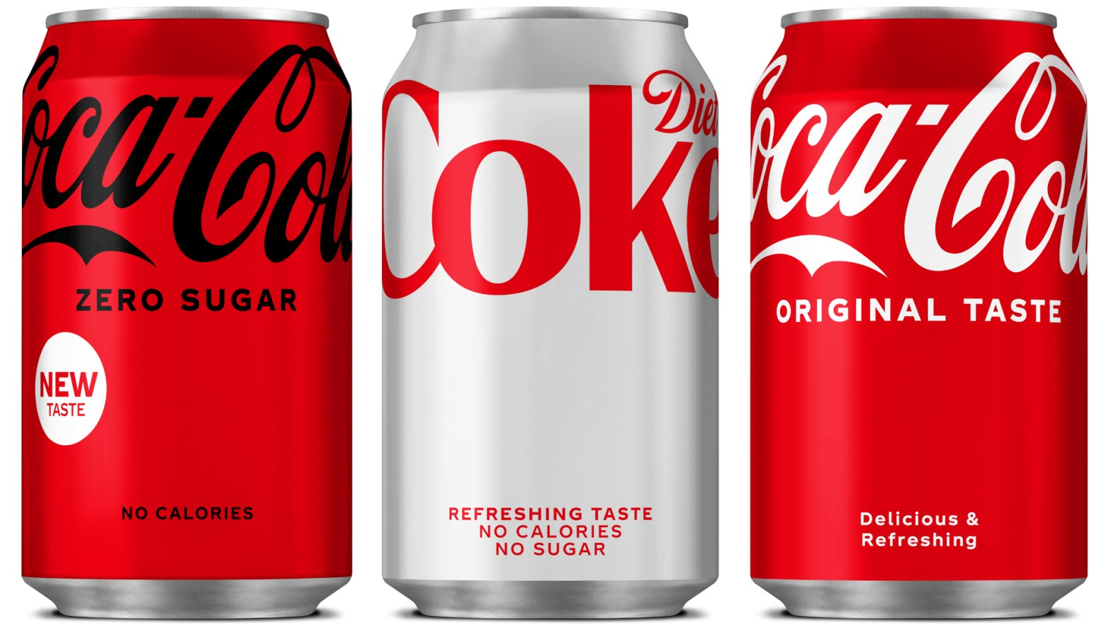 Thumbnail for Coca-Cola Redesigns For First Time Since 2016