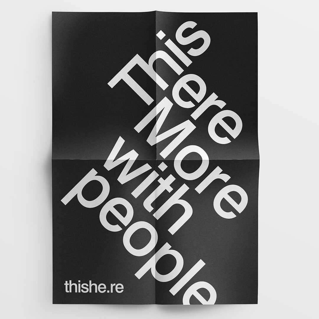 Thumbnail for This Here's Rebrand By Rejane Dal Bello Celebrates Perspective Through Design