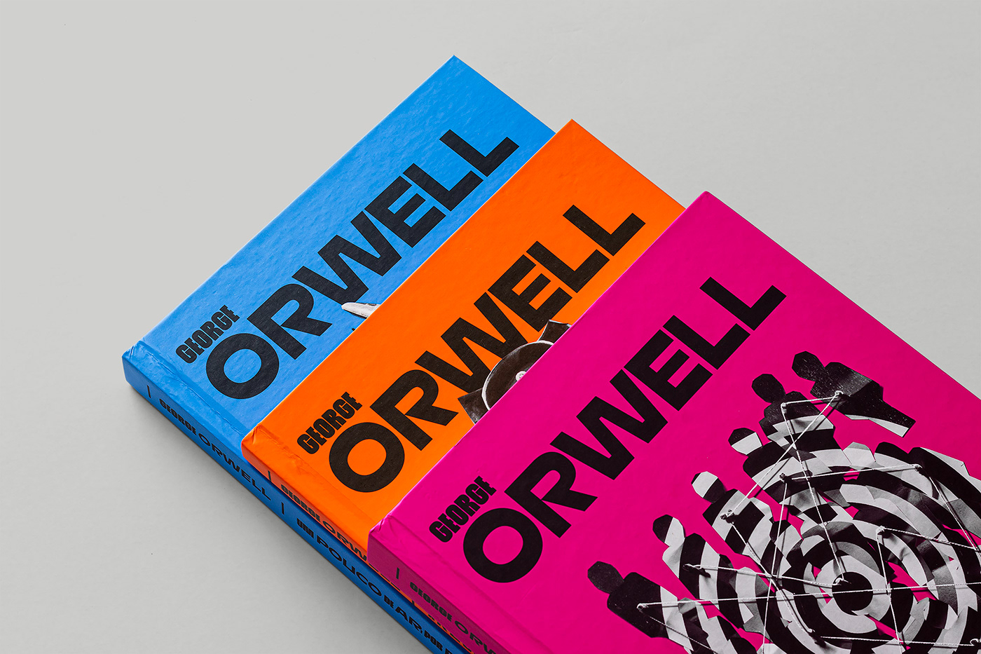 Thumbnail for Rafael Nobre Lends Vibrant, Bold Design to Some of George Orwell's Most Famous Books