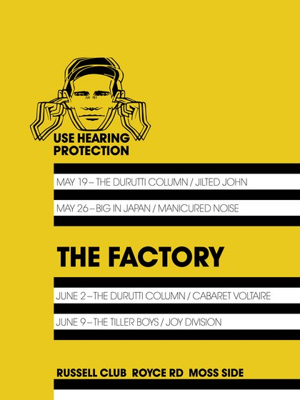 Thumbnail for 'Use Hearing Protection' Exhibition Explores the Early Years of Factory Records